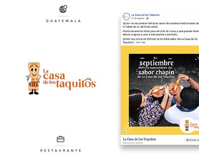 La Casa de los Taquitos - Social Media