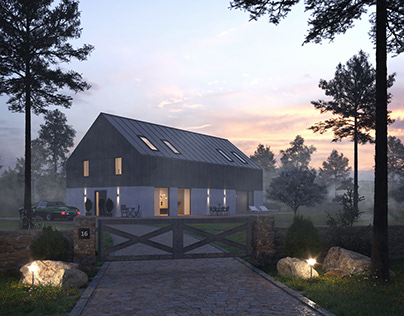 barn - light study