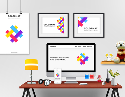 Brand Identity Design for ColorMat