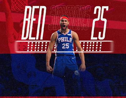 NBA - Ben Simmons - Philadelphia 76