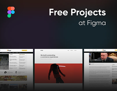 5 free layouts made at Figma