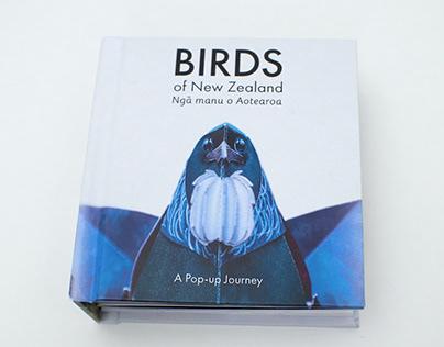 Birds of New Zealand | A Pop-up book
