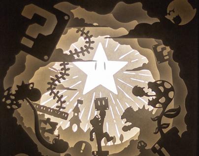 Lightbox - Super Mario