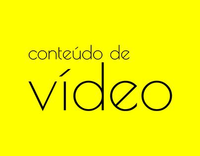 Conteúdo de Vídeo