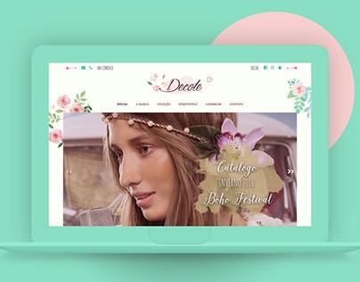 Decote // Website