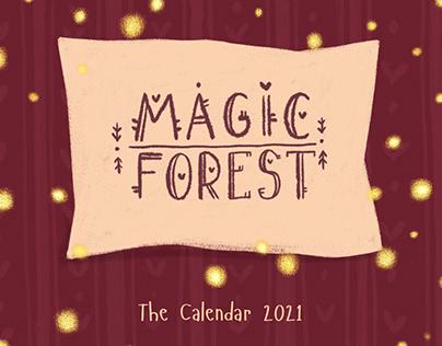 Magic Forest Calendar
