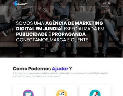Website Banuta Publicidade