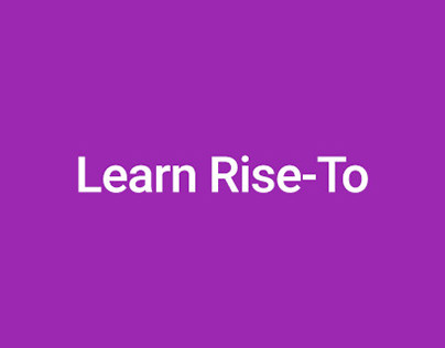 Learn Rise-To - Search Library
