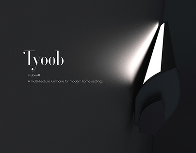Tyoob- A luminaire for modern homes.