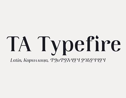 TA Typefire   TYPEFACE