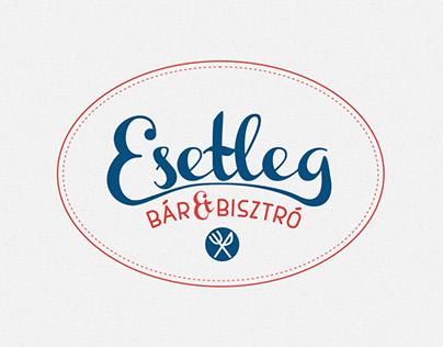 Esetleg Bistro Logo Concepts
