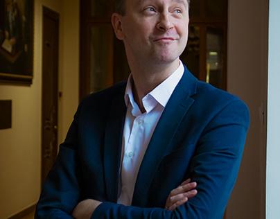 Фотосессия Владимира Тимонина для рубрики без галстука