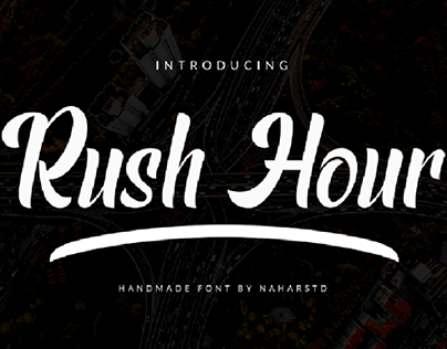 Rush Hour Font (Free)