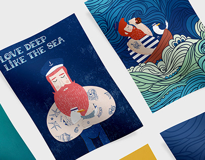 Marino | Illustrations.