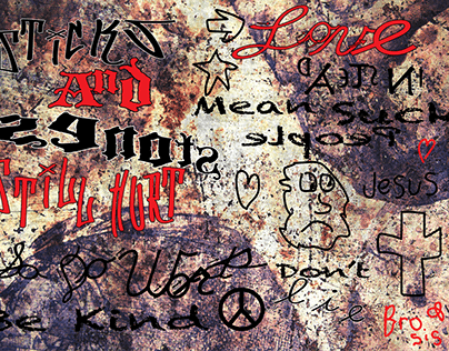 Grunge Typography-Art112 Minot State University