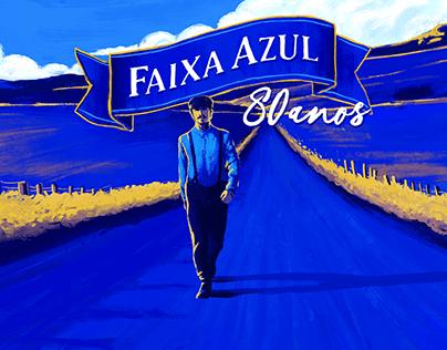 Vigor . Faixa Azul 80 Years