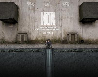 """Photoshop / Pastiche """"NOX"""" / Compositing / 2018"""