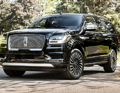 Black Luxury SUV Lincoln Navigator