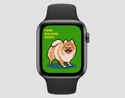 Your Walking Buddy | Apple Watch App Concept