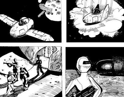 Short comic- Space menace