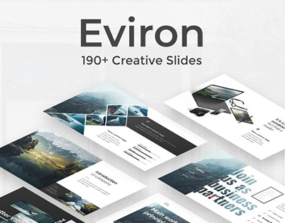 Eviron Creative Powerpoint Template