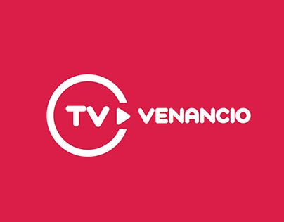 Identidade Visual TV Venancio e campanhas