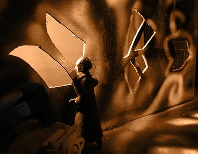 The Burglar With the Yellow Hand (Animated Short)