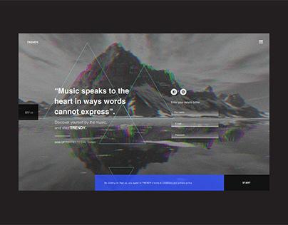 Techno music site