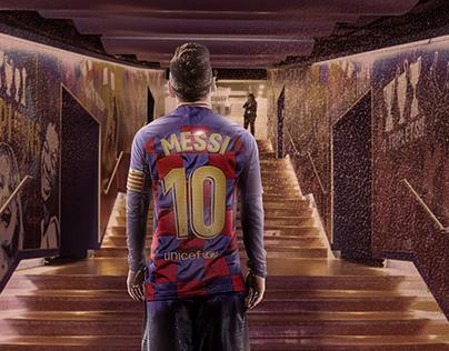 Messi Back To Barcelona