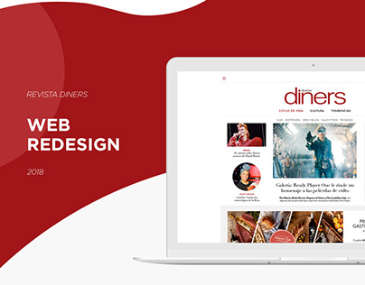 WEB REDESIGN - REVISTA DINERS
