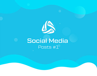 Social Media Posts Design for Aura Company 2017