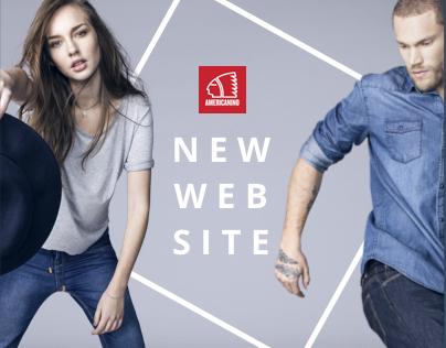 Americanino - Web Redesign