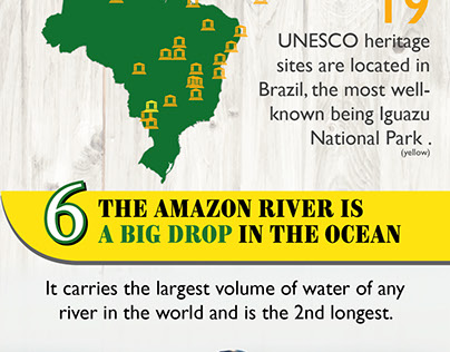 Interesting Facts about Brazil - Infographic