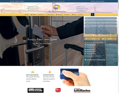 Bay Area Automatic Gates | Webdesign Project