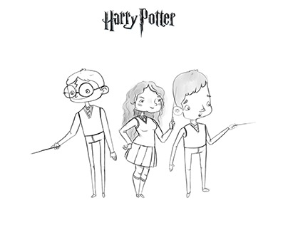 Harry Potter character redesign