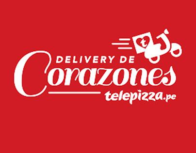 Telepizza | Delivery de Corazones