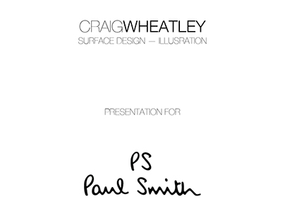 Presentation for Paul Smith