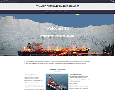 Dynamic Offshore Marine Services - Company Website