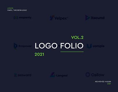 Logofolio, Modern logos collection, logo trends 2021