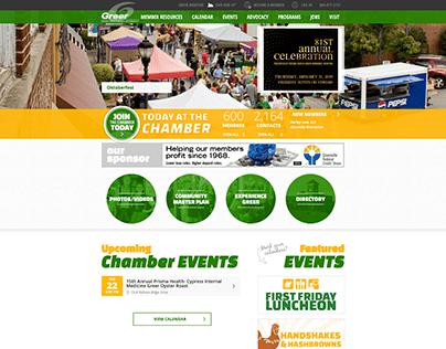 Greer Chamber of Commerce Website