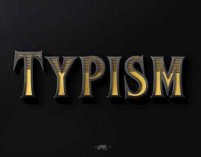 Typism - typographie