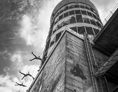 VERTICAL DANCE @Teufelsberg Berlin