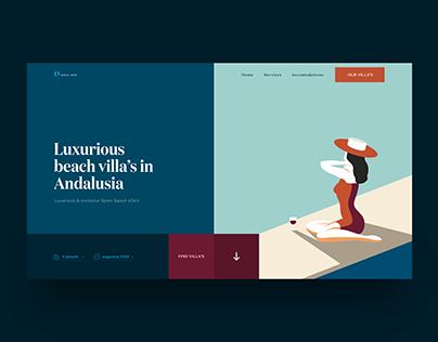Webdesign Villa Rental