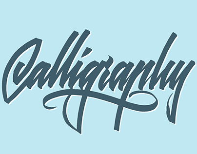 Hand Lettering 2015.4