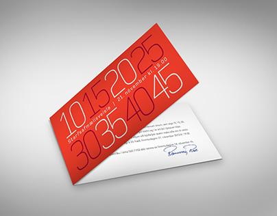 Invitation card for RioTintoAlcan