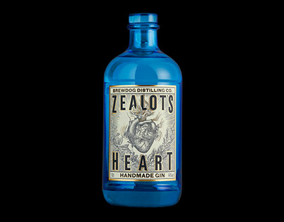 Zealot's Heart Gin | Brand Creation & Packaging
