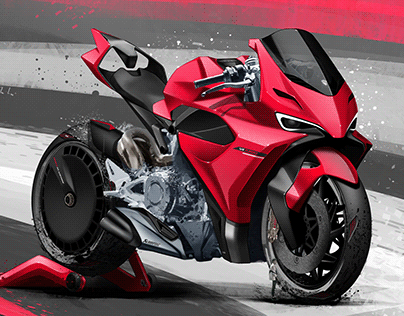 Motorcycle design Portfolio