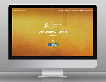 Anne Frank Center Annual Report