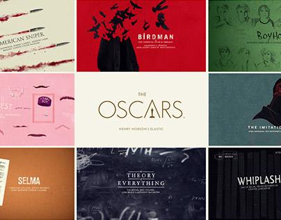 Oscars 2015 - Title Cards