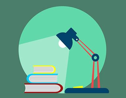 Library Logo Design